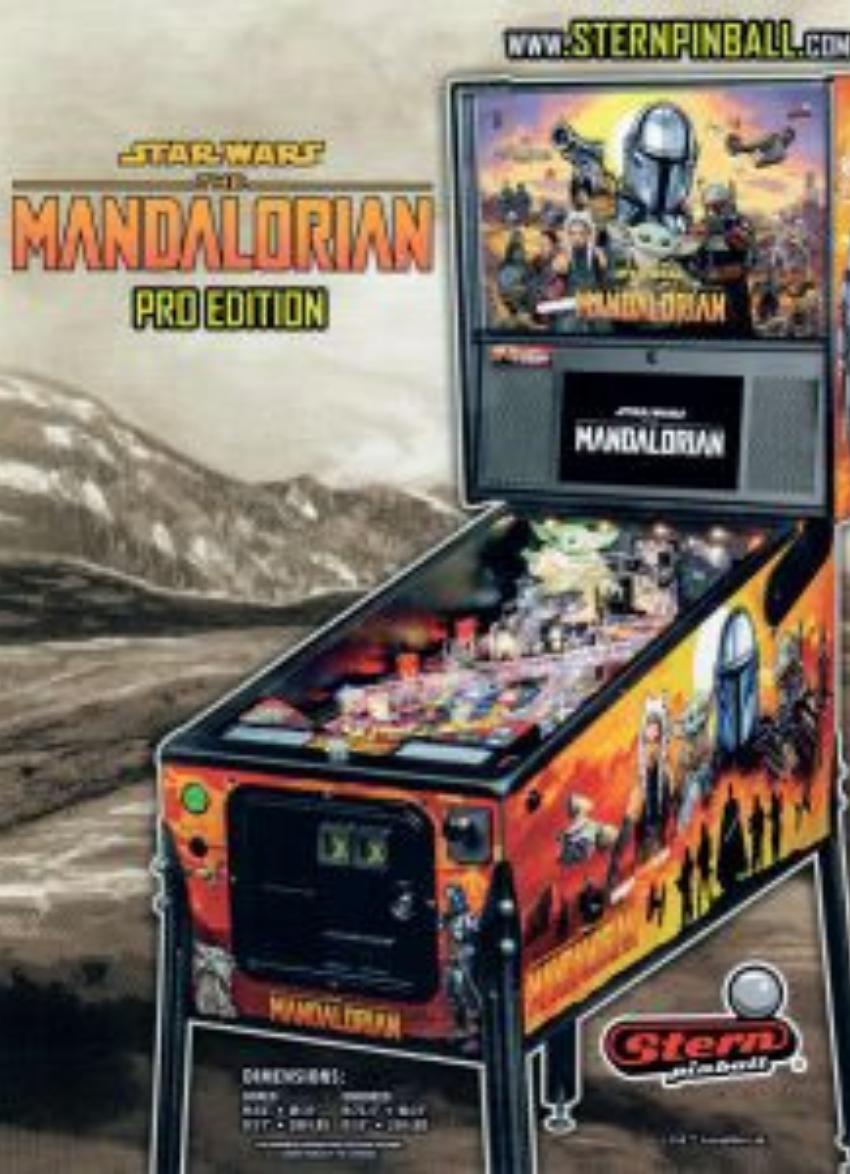 Mandalorian Pinball