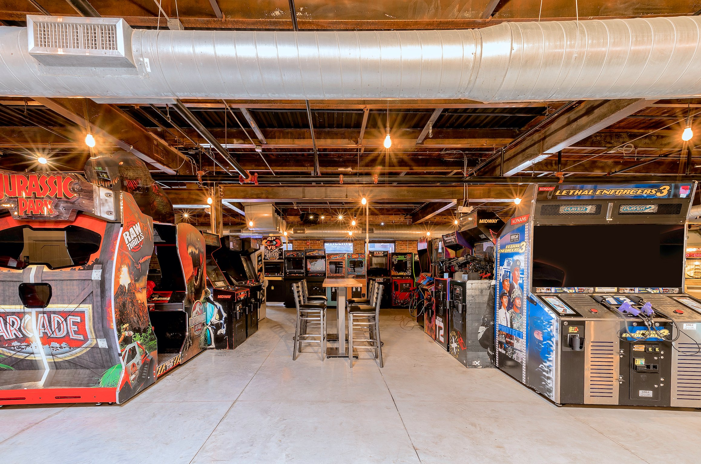 Greensboro's Ultimate Arcade Bar