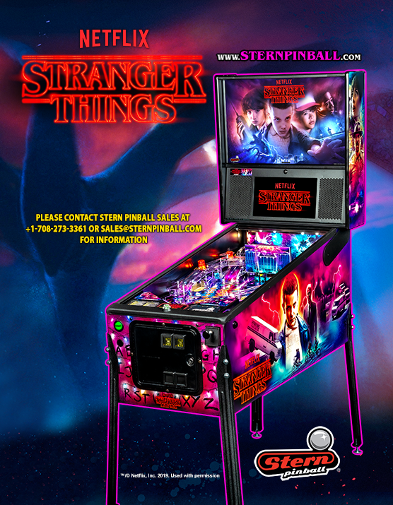 Stranger Things LE Pinball