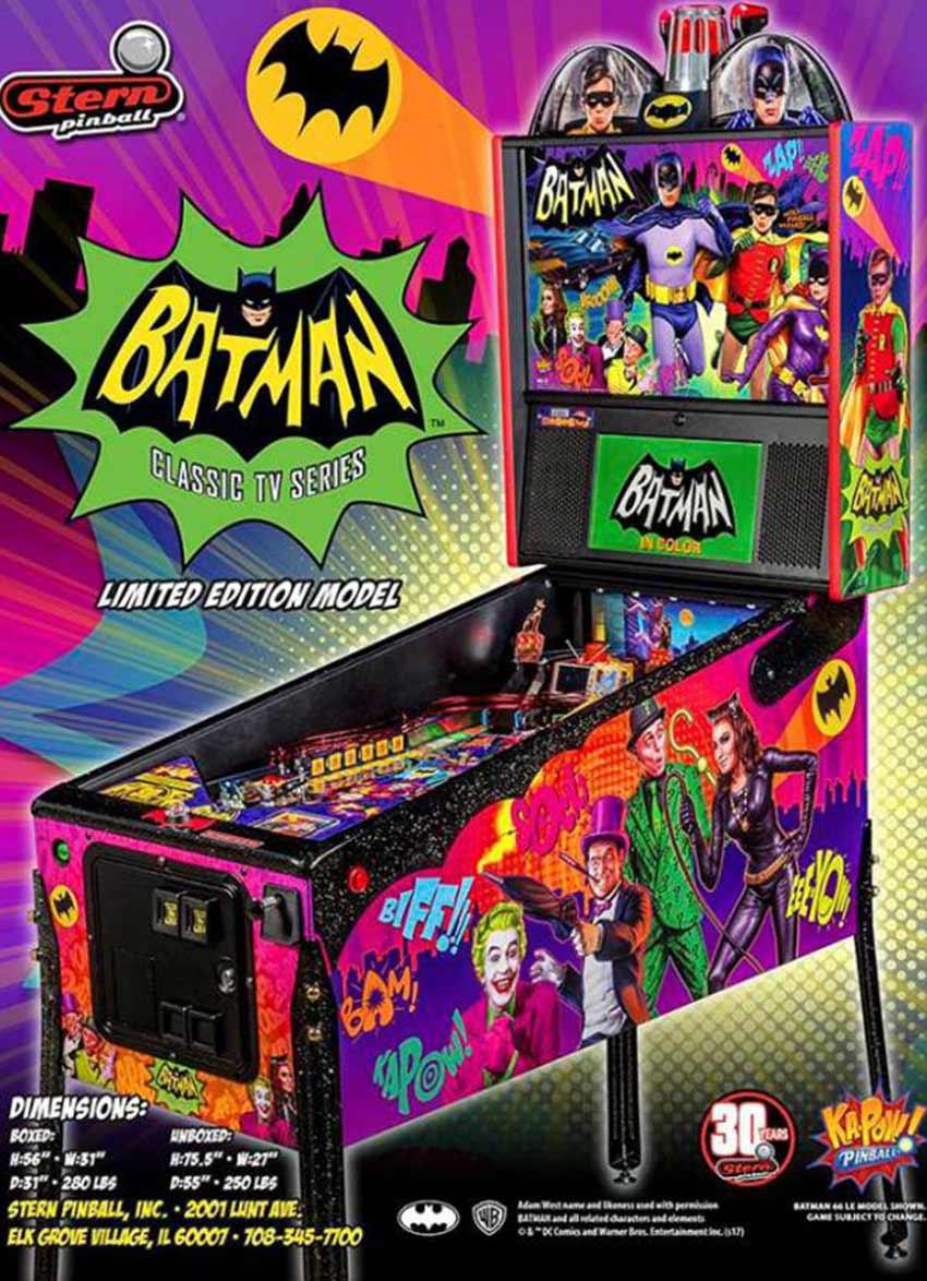 Batman LE Pinball Stern