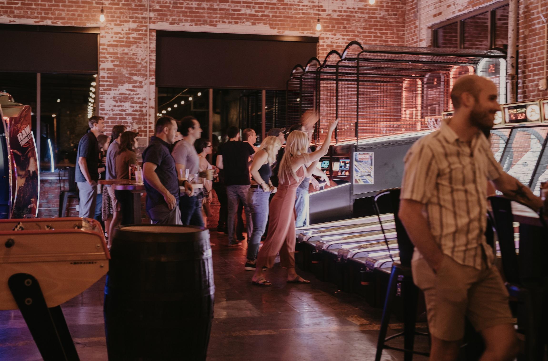 Arcade Bar in Durham